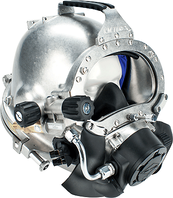 Kirby Morgan® KM77 Stainless Steel Helmet